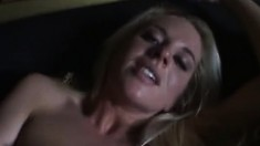 Hot blonde Cindy Dollar learns all about a big black to eat and nail her ass