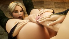 Two gorgeous chicks enjoy rubbing against each other's naked bodies