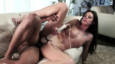 Gorgeous brunette babe India Summer gets her cunt smasshed by a BBC