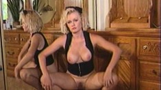Vintage tape of kinky broads getting real hot and heavy together
