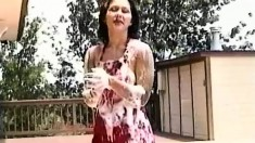 Hot Nani Likes To Get Soaped Up And Play With Her Sweet Behind