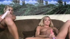 Alluring Babes Mckenzee Miles And Amy Brooke Use Sex Toys To Cum Hard