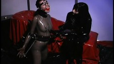 Naughty sex slave takes some cruel punishment from Anastasia Pierce