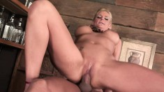 Buxom blonde Vannah Sterling loves to have a big rod fucking her holes