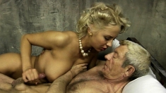 Young Blonde Blowjob For More
