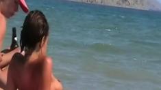 Nudist Beach Teen Girls Voyeur Series 15