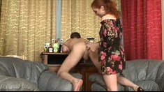 Amateur Redhead Fisted