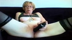 Fat mature in stockings vaclava toys her snatch