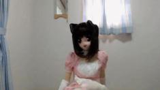 Kigurumi Pink Maid