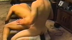 Horny gay cowboy gives a man in distress all the dick he needs
