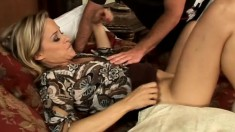 Lonely housewife craves the feeling of a younger cock inside her